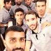 بازیکنان نفت مسجدسلیمان در ایفمارک+عکس