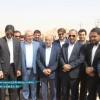 با حضور مسئولین استانی و شهرستانی عملیات اجرایی احداث جاده میانبر مسجدسلیمان- اهواز آغاز شد + تصاویر