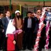 آئین زنگ مهر و بازگشایی مدارس مسجدسلیمان برگزار شد + تصاویر