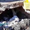اعتراض شدید مردم و کسبه منطقه نمره۱ از نشست زمین در یکی از پرترددترین مناطق شهر و بی تفاوتی مسئولین + تصاویر