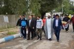 همایش پیاده روی خانوادگی به مناسبت روز ارتش در کارخانه تانک سازی مسجدسلیمان برگزار شد+تصاویر