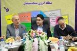 بازدید مدیرعامل و اعضای هیات مدیره شرکت سرمایه گزاری صندوق بازنشستگی کشور از پروژه شرکت صنایع پتروشیمی مسجدسلیمان