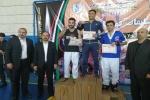 کسب مقام دوم ورزشکار مسجدسلیمانی در مسابقات کیک بوکیسینگ قهرمانی کشور