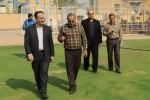 بازدید مدیرعامل شرکت نفت و گاز مسجدسلیمان از روند توسعه استادیوم شهید بهنام محمدی