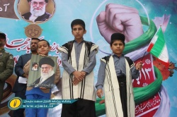شکوه راهپیمایی ۱۳ آبان در شهر هزار شهید مسجدسلیمان + گزارش تصویری