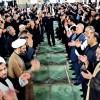 مراسم روز تاسوعای حسینی در مصلی امام خمینی(ره) مسجدسلیمان برگزار شد + تصاویر