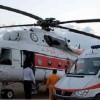 اعزام مصدوم حادثه دیده مسجدسلیمانی با اورژانس هوایی به اهواز