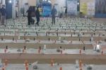 بیش از ۱۵۰۰ نفر از بسیجیان، هیئات مساجد و شهروندان مسجدسلیمانی در ضیافت افطاری دفتر مقام معظم رهبری در مصلی نماز جمعه حضور پیدا کردند