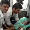 نوزاد عجول در آمبولانس چشم به جهان گشود