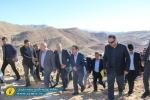 بازدید معاون وزیر راه و شهرسازی و نماینده مردم مسجدسلیمان از سه پروژه جاده میانبر، کمربندی و مسجدسلمان به اندیکا + تصاویر