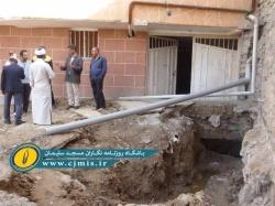 خطر ریزش مجتمع مسکونی ۵ طبقه کارون در مسجدسلیمان جان ساکنین آنجا را تهدید می کند + تصاویر