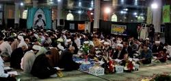 آئین شکوهمند جمع خوانی قرآن کریم در مصلی امام خمینی مسجدسلیمان برگزار شد+ تصاویر
