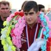 گزارش تصویری استقبال پرشور مردم مسجدسلیمان از دلاور مرد کشتی فرنگی جهان