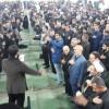 مراسم عزاداری شهادت حضرت فاطمه زهرا(س) در مصلی امام خمینی مسجدسلیمان برگزار شد + تصاویر