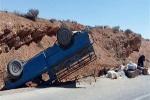 حادثه رانندگی در محور اندیکا - بازفت ۸ نفر را راهی بیمارستان کرد