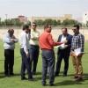 بازدید نماینده فدراسیون از استادیوم شهید محمدی مسجدسلیمان