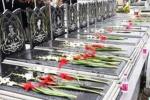 همزمان با سراسر کشور ۴ گلزار شهدای شهرستان مسجدسلیمان غبار روبی، عطر افشانی و گلباران خواهند شد
