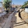 اعتراض شدید مردم کلگه از طولانی شدن اصلاح شبکه آب و اختلال شدید در تردد خودروها + تصاویر