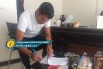 رسمی/ مدافع ارزشمند نفت مسجدسلیمان قرارداد خود را تمدید کرد + تصویر