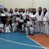 کاراته کاران شهر گل گیر بر پلکان ترقی+ تصاویر