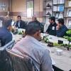 دیدار رییس اداره صنعت،معدن و تجارت شهرستان اندیکا با پرسنل ستادی فرماندهی نیروی انتظامی شهرستان