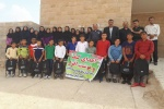 توزیع کیف و کوله پشتی به دانش آموزان عشایری