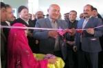 افتتاح سالن سرپوشیده ی چند منظوره ی شهدای آموزش و پرورش هفتکل + تصاویر