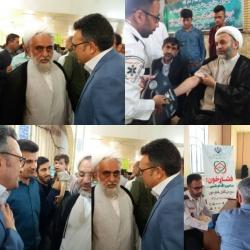رییس شبکه بهداشت و درمان مسجدسلیمان: بیماری فشار خون یکی از مهمترین علت های بیماری و مرگ در کشور است + تصاویر