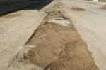پیمانکار طرح فاضلاب پاسخگوی مردم منطقه باغ ملی برای ترمیم حفاری های ایجاد شده نیست!+تصاویر