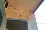 زلزله شب گذشته خسارت جدی به بعضی خانه ها در روستای مومن آباد وارد کرده است