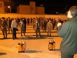 برگزاری رزمایش بزرگ زیستی مقابله با کورونا توسط پاسداران و بسیجیان سپاه شهرستان مسجدسلیمان