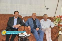 عیادت نماینده مردم مسجدسلیمان به همراه جمعی از مدیران شهرستان از پیشکسوت رسانه + تصاویر