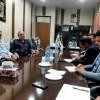 نشست هم اندیشی علی عسگر ظاهری با رؤسای هلال احمر شهرستان های مسجدسلیمان، لالی، هفتکل و اندیکا