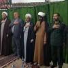 مراسم شب شهادت امام موسی کاظم (ع) در امام زادگان هفت شهیدان برگزار شد + تصاویر