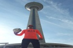 فرزند نیک مسجدسلیمان، حسین عالی محمدی رکورد حمل توپ با دو صد متر کشور را به نام خود به ثبت رساند + تصاویر