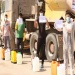 جوانان منطقه بازار چشمه علی در اقدامی خودجوش اقدام به ضدعفونی کردن نقاط مختلف این منطقه کردند+تصاویر