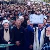 مراسم تشییع پیکر شهیدان والامقام، سعید کریمی و مهران زرافشان با حضور گسترده مردم  مسجدسلیمان برگزار شد