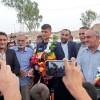 مراسم استقبال از سعید حسین پور نایب قهرمان کشتی جهان در غیاب مسئولین شهرستان+ تصاویر