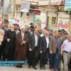 مردم مسجدسلیمان علیه بدعهدی آمریکا در برجام راهپیمایی کردند + تصاویر