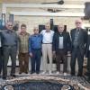 عیادت جمعی از اعضای کانون پیشکسوتان ورزش مسجدسلیمان از پیشکسوت خبر این شهرستان + تصویر