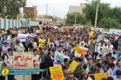 حضور اقشار مختلف مردم،در راهپیمایی ۱۳ آبان روز ملـی مبـارزه با اسـتکبار + تصاویر