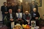 دیدار جمعی از پیشکسوتان فوتبال مسجدسلیمان از استاد حیدر دهقان یکی از بنیانگذاران تیم فوتبال استقلال مسجدسلیمان