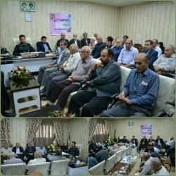 نشست تعاملی فرمانده انتظامی مسجدسلیمان با بزرگان و سران طوایف