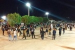 اجتماع عاشورایی هیئت زنجیر زنی فاطمیون غرب مسجدسلیمان برگزار شد + تصاویر