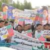 حماسه بی نظیر مردم مسجدسلیمان در جشن چهل سالگی انقلاب اسلامی + تصاویر