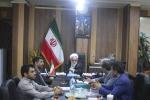 جلسه رسیدگی به مشکل بدهی جرایم بیمه ای شهرداری به تامین اجتماعی شهرستان مسجدسلیمان برگزار شد