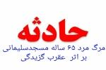 مرد ۶۵ ساله مسجدسلیمانی به دلیل عقرب گزدیگی درگذشت