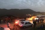 ۱۵ مصدوم در تصادف اتوبوس حامل کارکنان پتروشیمی مسجدسلیمان با کامیون حامل میلگرد/ حال مصدومان مساعد گزارش شده است + تصاویر