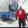 بارش سنگین برف راه سه روستای اندیکا را مسدود کرد