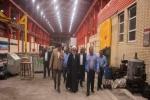 بازدید سرپرست فرماندار شهرستان مسجدسلیمان از کارخانه آلومینیوم کاوه خوزستان